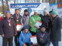"""Победители лыжных гонок """"Спартакиада - 2015"""""""