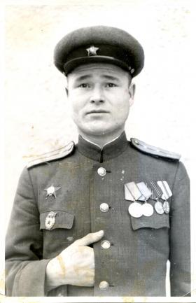 Михаил Васильевич Заяшников - Германия, 1945 г.