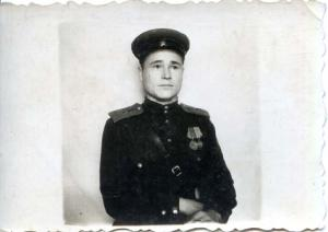 Михаил Васильевич Заяшников - Польша, 1944 г.
