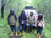 совместные полевые экспедиционные работы на о. Сахалин группы ученых ДВГИ ДВО РАН и Национального университета Тайваня